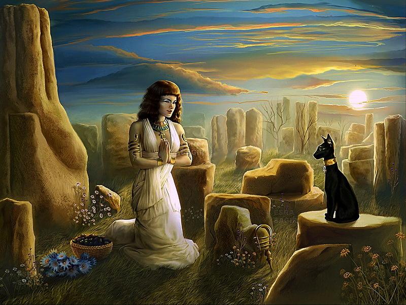 Боги по имени Мау. Благодаря «живому щиту» из кошек персы завоевали Египет